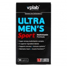 Витамины VPlab Ultra Mens sport multivitamin formula 90 кап
