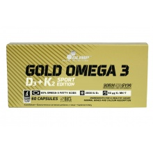 Антиоксидант Olimp Gold Omega3 D3+K2 60 caps