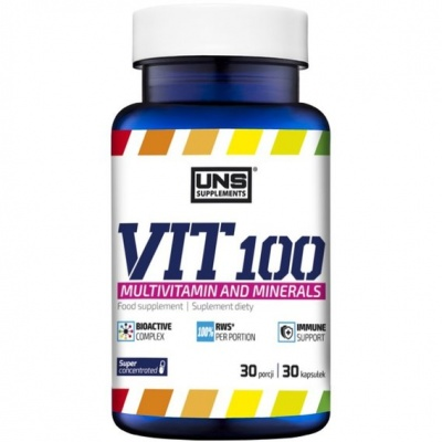 Витамины  UNS Supplements Small Vit 100 30 кап